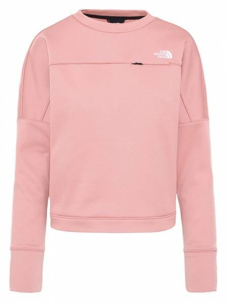 The North Face Hikesteller Damen Pullover pink clay