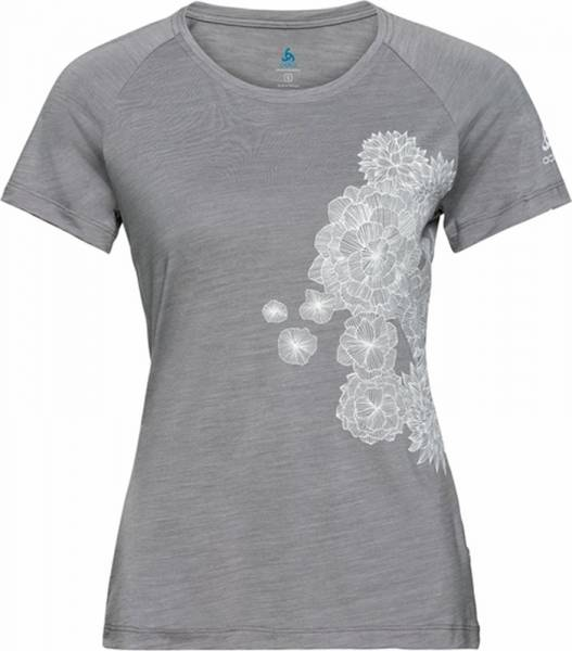 Odlo Concord T-Shirt S/S Crew Neck Women grey melange