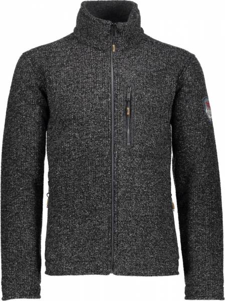 CMP Jacket Men Wolljacke Carbone Melange