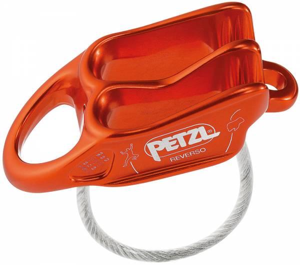 Petzl Reverso Sicherungsgerät rot