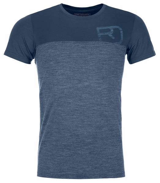 Ortovox 150 Cool Logo TS Herren T-Shirt blue lake