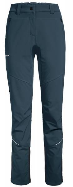 Vaude Larice Pants III Damen Softshellhose steelblue