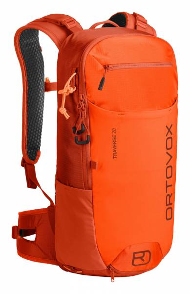 Ortovox Traverse 20 Wanderrucksack desert orange