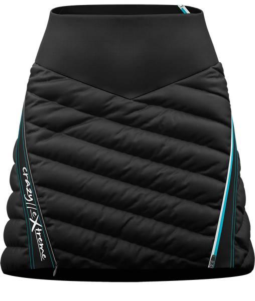 Crazy Idea Skirt Alpinstar 3D Damen Isolations-Rock laguna