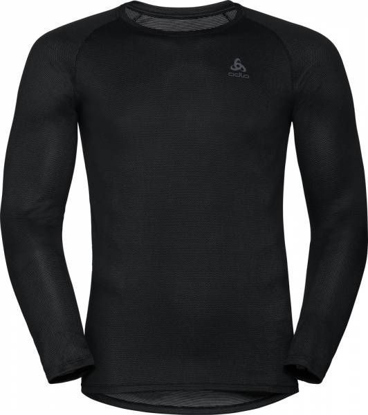 Odlo Active F-Dry Light Men Funktionsunterwäsche Langarm-Shirt black