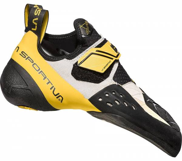 La Sportiva Solution Herren Kletterschuh white/yellow