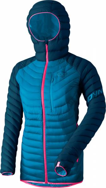Dynafit Radical Down Hooded Jacket Women Daunenjacke Poseidon