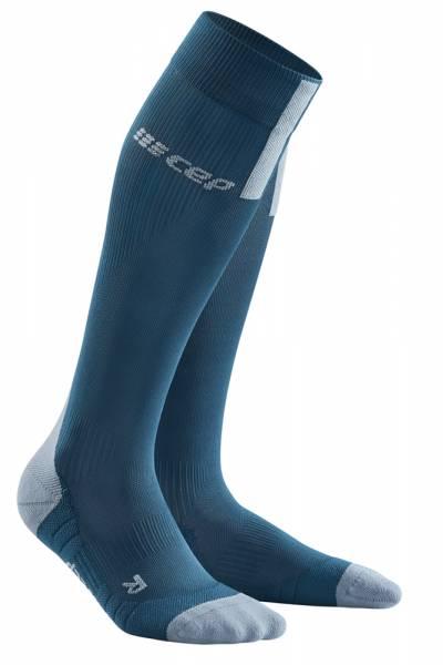 CEP Run Socks 3.0 Herren Compression-Socken blue/grey