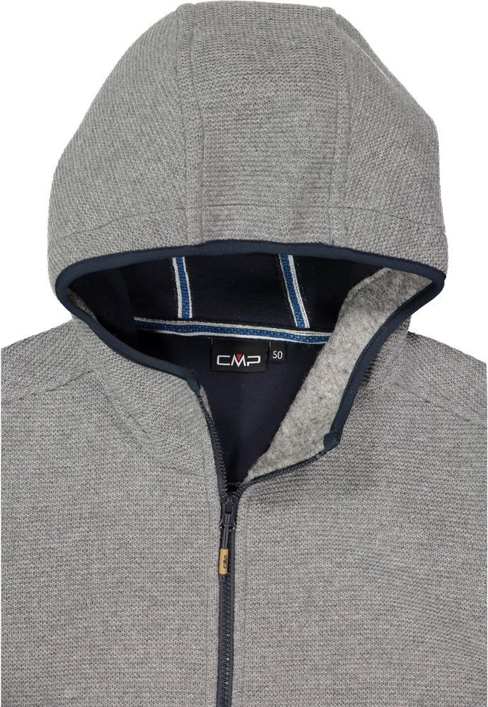 CMP Jacket Fix Hood Men Kapuzenjacke fumo mel. b. blue