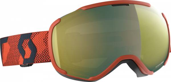Scott Faze II Goggle orange/enhancer yellow chrome