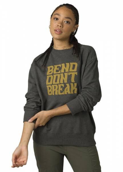 Prana Graphic LS Tee Damen Sweatshirt charcoal bend