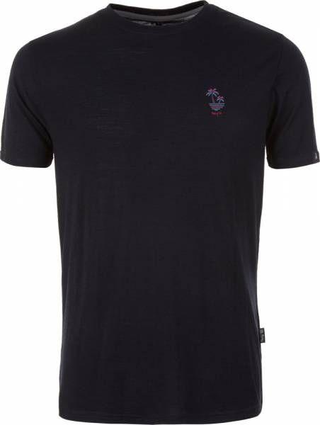 Pally´Hi Dizzy Palms Herren T-Shirt bluek