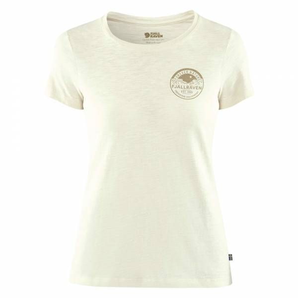 Fjällräven Forever Nature Badge T-Shirt Women Chalk White