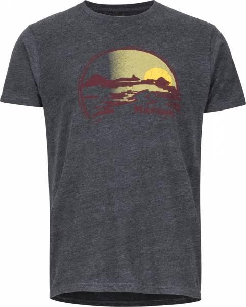 Marmot Weaver Tee SS Men T-Shirt charcoal heather