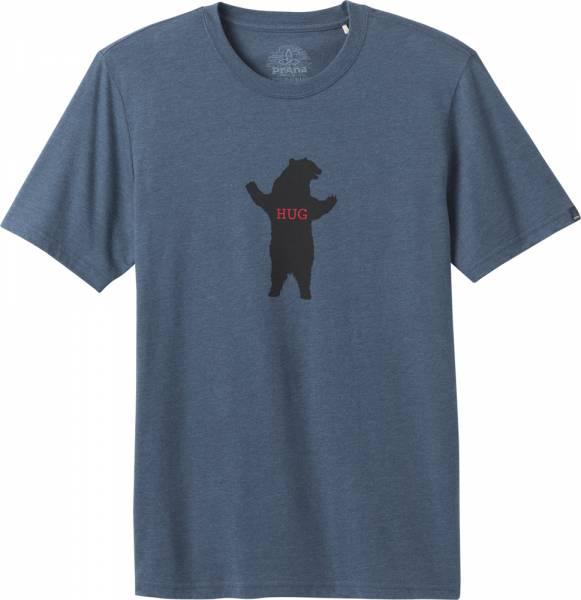 Prana Bear Squeeze Journeyman Men T-Shirt denim heather