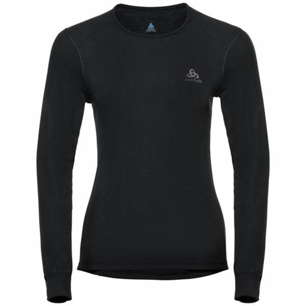 Odlo BL Top crew neck l/s active warm langarm Damen Funktionsunterwäsche black