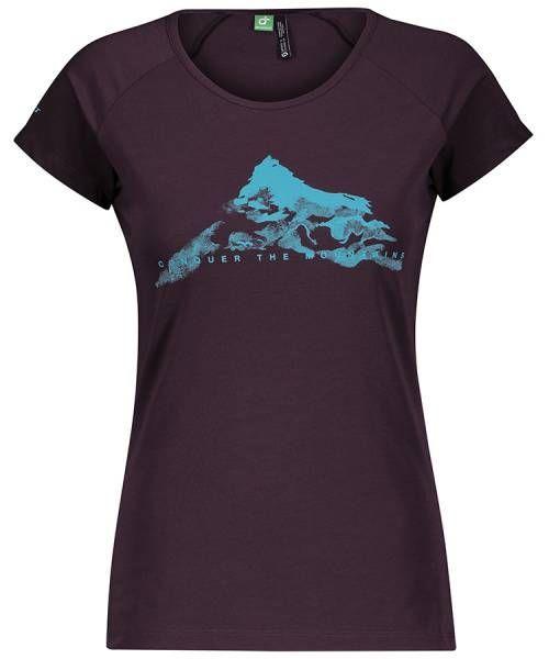 Scott Definded Dri Shirt Damen Funktionsshirt dark purple