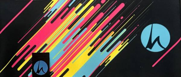 Höhenrausch Neon Spirit Fleece Stirnband