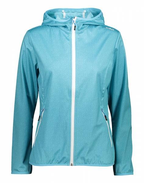 CMP Fix Hood Jacket Damen Softshelljacke pool-dark pool (31A5456)