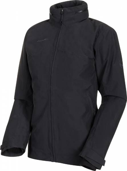 Mammut Trovat 3 in 1 HS Hooded Jacket Women black-black Hardshelljacke