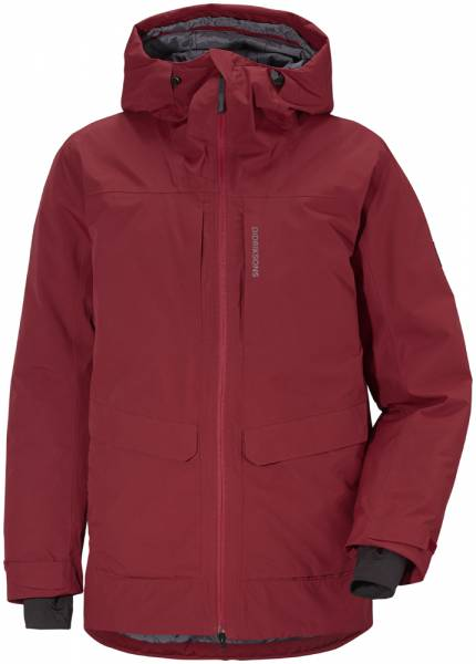 Didriksons Dale Jacket Men element red