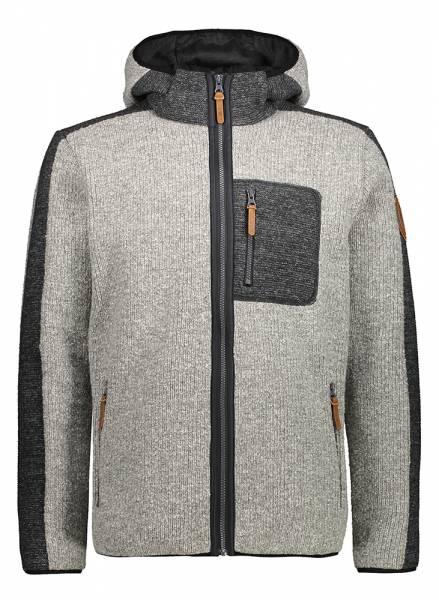 CMP Jacket Fix Hood Herren Wolljacke grey mel. (30M3317)