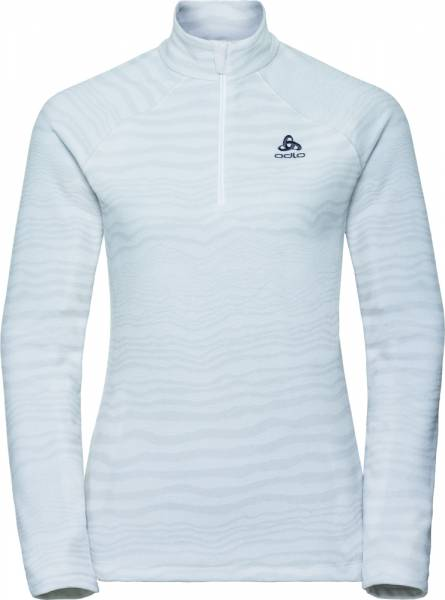 Odlo Midlayer 1/2 zip Albua Women silver grey -white
