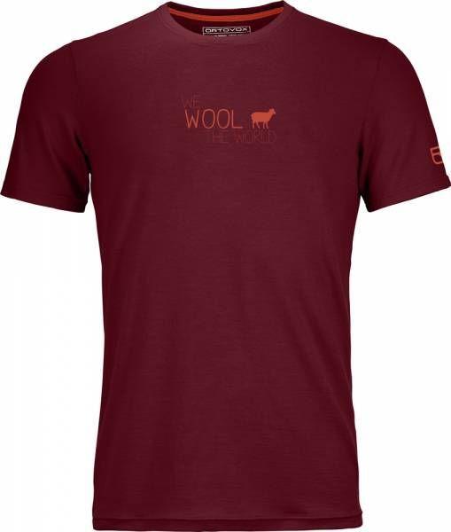 Ortovox 150 Cool World T-Shirt Men dark blood Funktionsshirt