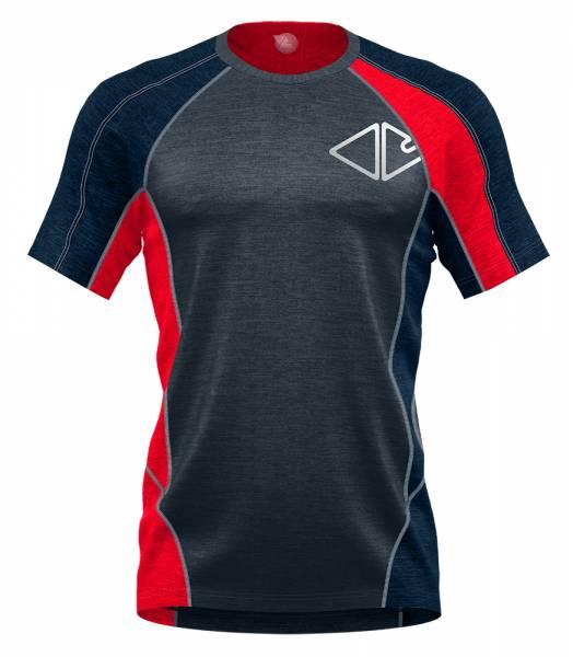 Crazy Idea T-Shirt Resolution Herren Funktionsshirt fire