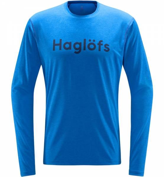 Haglöfs Ridge LS Tee Men Langarmshirt storm blue