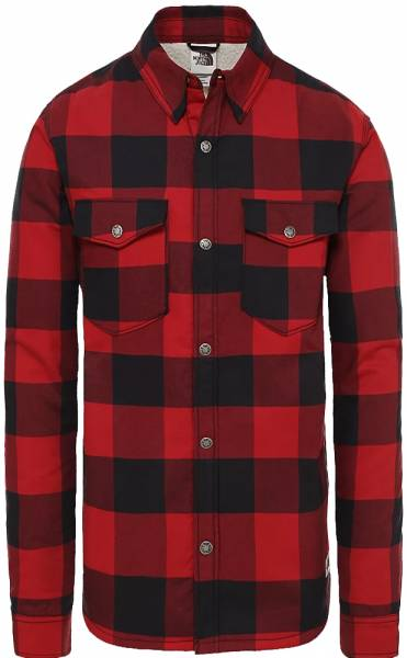 The North Face Campshire Hemd Cardinal Red