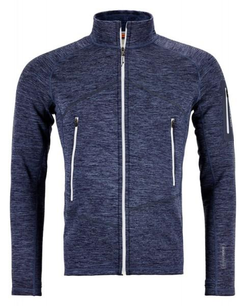 Ortovox Fleece Light Melange Jacket Men night blue