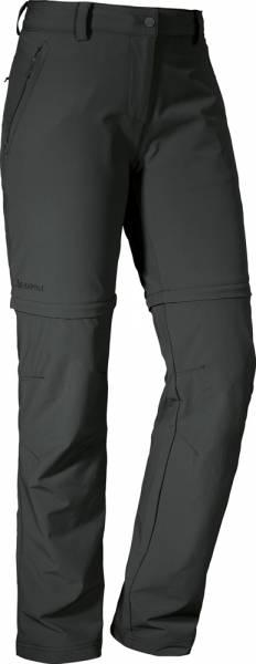 Schöffel Ascona Zip Off Women Pants Berghose asphalt Kurzgröße