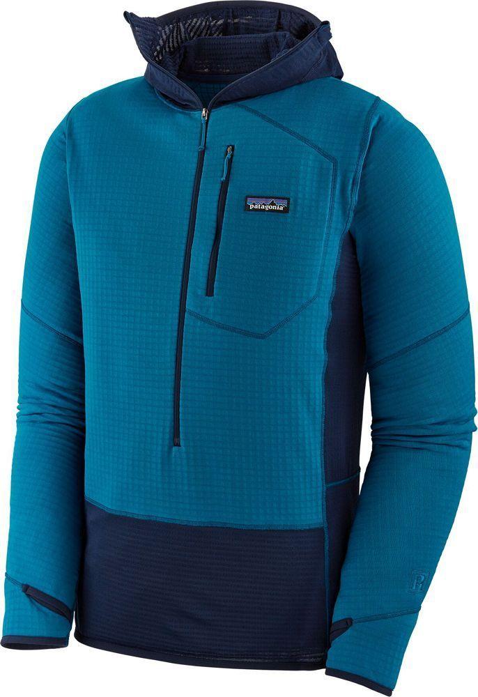 Hoody Fleece Balkan Blue Pullover Men Patagonia R1 80PkXZNnwO