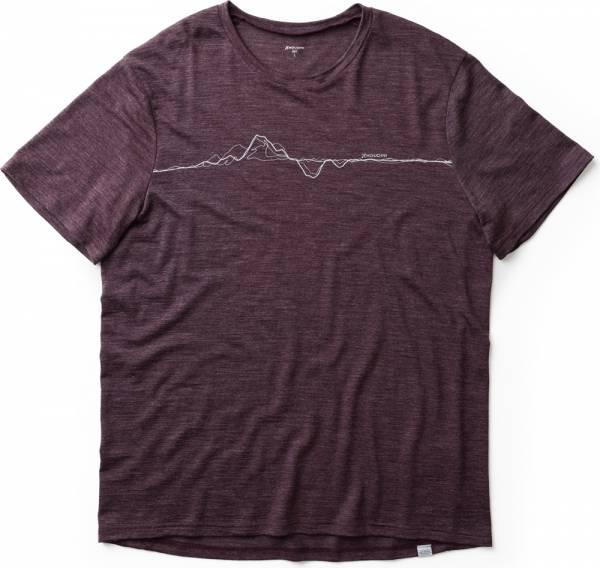 Houdini M´s Activist Message Tee Men T-Shirt last round red