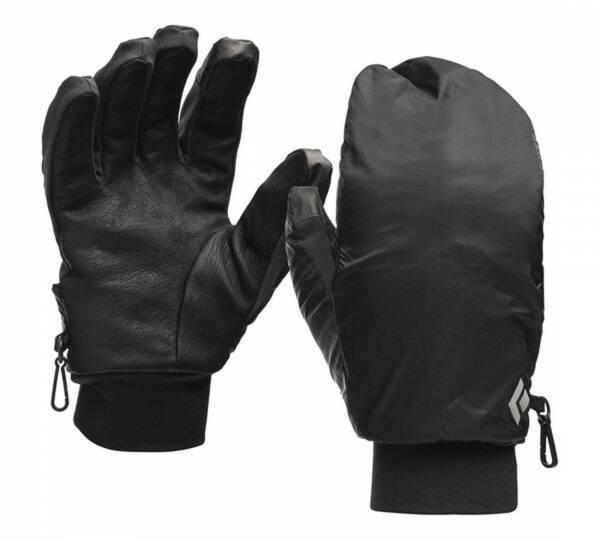 Black Diamond Wind Hood Softshell Gloves Skitourenhandschuh smoke