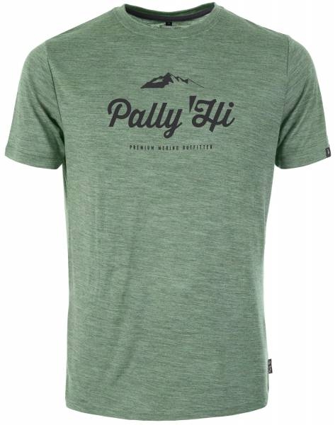 Pally´Hi Classic Peak Logo T-Shirt heather moss