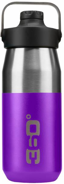360 Degrees Wide Mouth Insulated Bottle 550ml/750ml Trinkflasche Purple