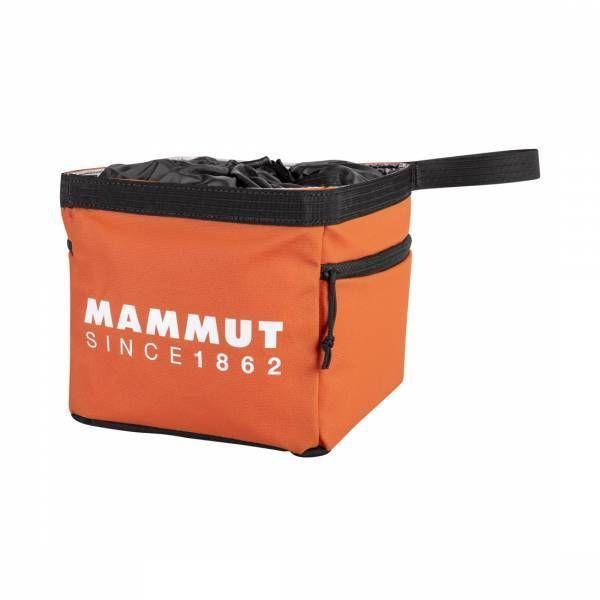 Mammut Boulder Cube Chalk Bag pepper