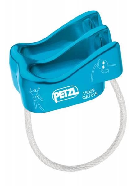 Petzl Verso Sicherungsgerät blau