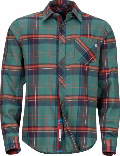 Marmot Anderson Lightweight Flannel LS men Hemd mallard green
