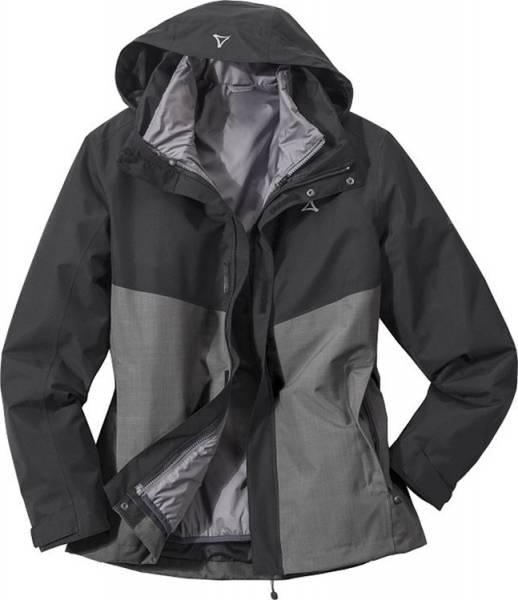 Schöffel 3in1 Jacket Genova1 Women schwarz-grau