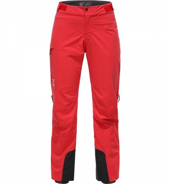 Haglöfs L.I.M. Touring Proof Pant Women Skitourenhose Hibiscus Red