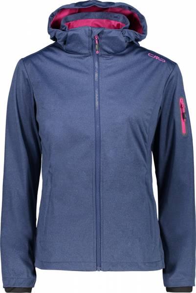CMP Woman Jacket Zip Hood marine mel. (39A5016M)