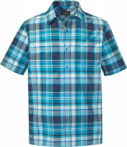 Schöffel Shirt Bischofshofen1 UV Men Hemd blue jewel