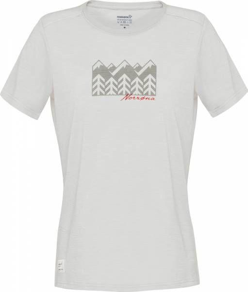 Norrona svalbard wool T-Shirt Women ecru