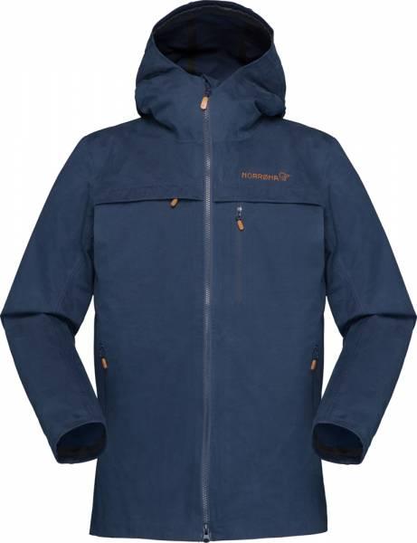 Norrona Svalbard Cotton Jacket Women Baumwolljacke Indigo Night
