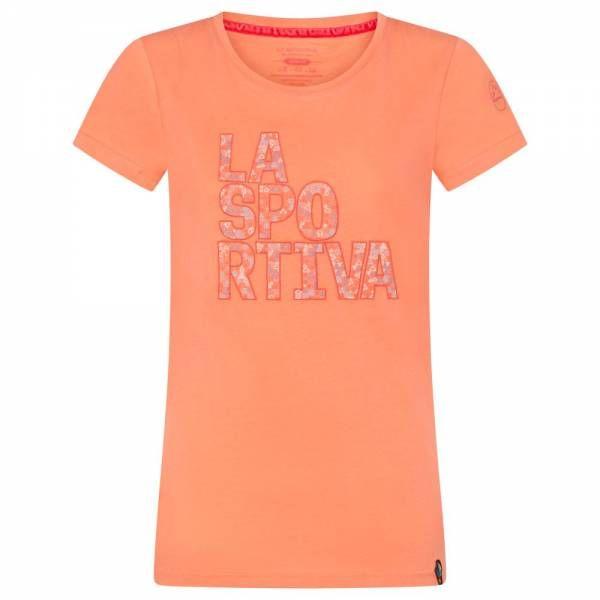 La Sportiva Pattern T-Shirt Women Klettershirt Flamingo
