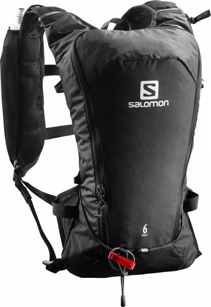 Salomon Agile 6 Set black Rucksack