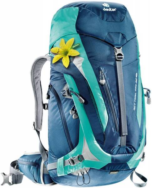 Deuter ACT Trail Pro 32 SL Women midnight-mint Wanderrucksack